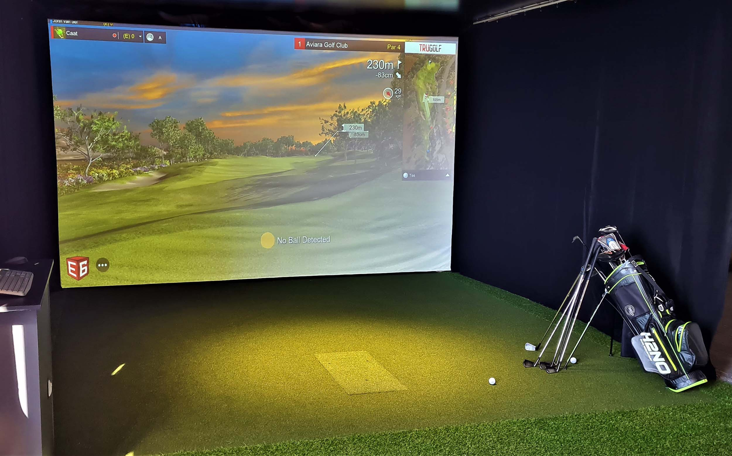 BodiTrak - Pressure Mat,focusband, SAM PuttLab, Golfstudio inrichting, Racesimulator, Golfnetten, pokerstance, Putting Stick, planeSwing,putting greens, Afslagmatten, Flightscope x3, The NetReturn, Simulator kooi op maat, Standaard simulator kooi, e6 golfconnect, skytrack, flightscope, x3 simulator, putt simulator (exputt) sportscoach systems, trugolf, Dutch Golf Company, indoorgolf, golfsimulator, golfprofessional, Goirle, Eindhoven